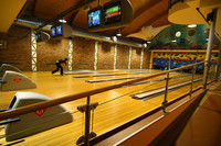 Bowling a bar