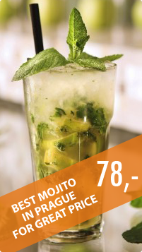 The best Mojito in Prague