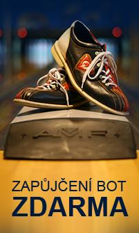 Zapůjčení bowlingových bot ZDARMA